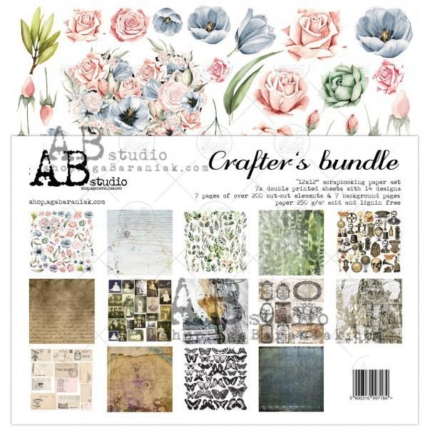 Crafters bundle kivágóív kollekció