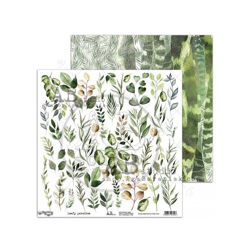 Leafy paradise kivágóív