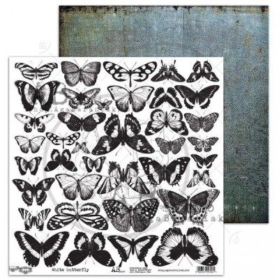 White-butterfly kivágóív
