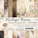 Vintage Bisou - papírkészlet 15,25x15,25cm