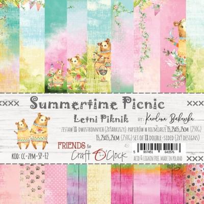 Summertime Picnic - papírkészlet 15,25x15,25cm