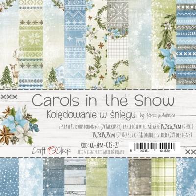 Carols in the Snow - papírkészlet 15,25x15,25cm