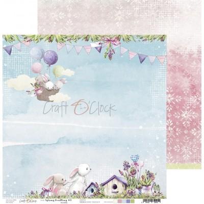 Spring Bustling - papírkészlet 30,5x30,5cm