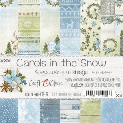 Carols in the Snow - papírkészlet 30,5x30,5cm
