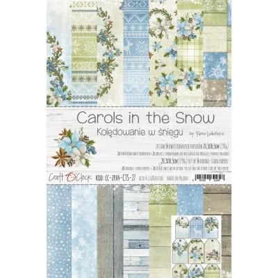 Carols in the Snow - papírkészlet 20,3x30,5cm