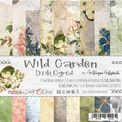 Wild Garden - papírkészlet 15,25x15,25cm