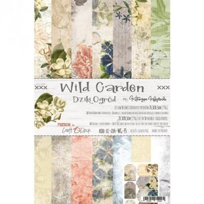 Wild Garden - papírkészlet 20,3x30,5cm