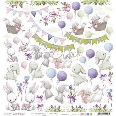 Spring Bustling - I - kivágóív