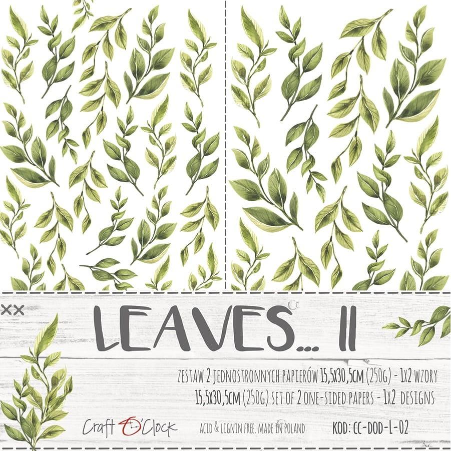 Leaves - II - kivágóív