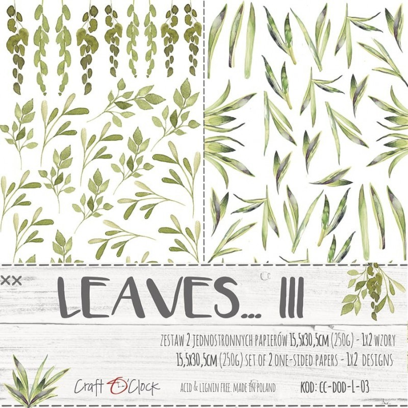 Leaves - III - kivágóív