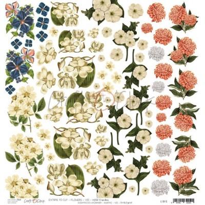 Flowers - VIII - kivágóív