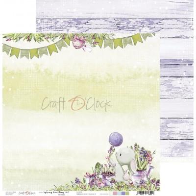Spring Bustling - papírkészlet 15,25x15,25cm