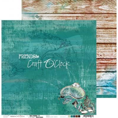 Sea Stories - papírkészlet 15,25x15,25cm