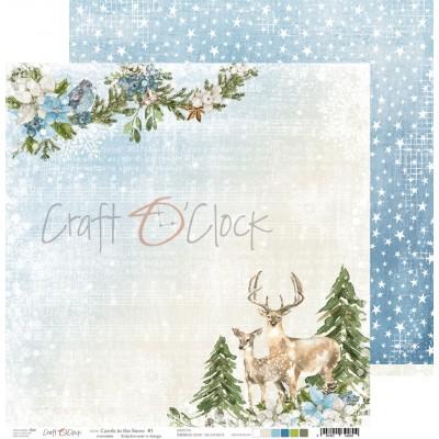 Carols in the Snow - papírkészlet 20,3x20,3cm