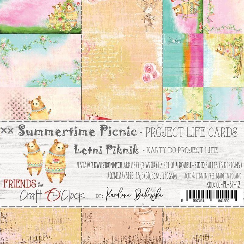 Summertime Picnic - Project Life kártyák