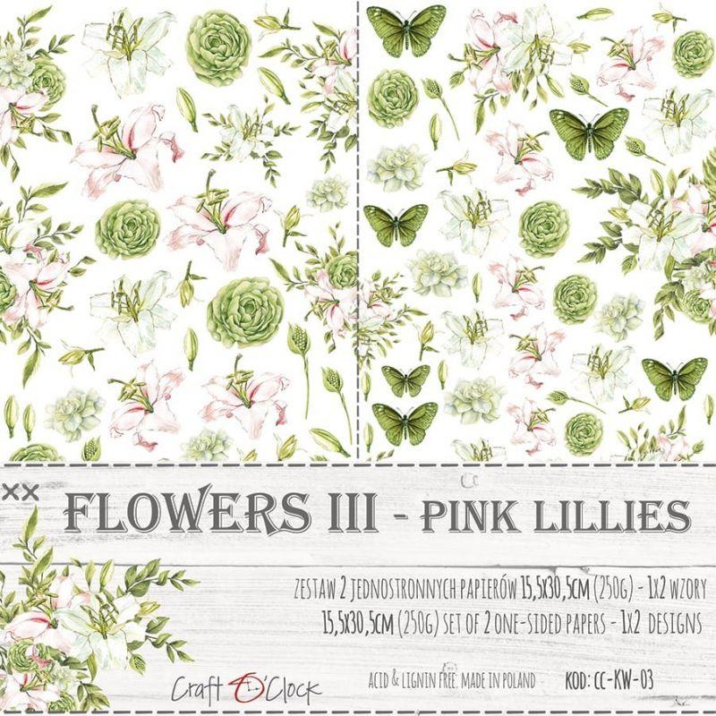 Flowers - III - kivágóív