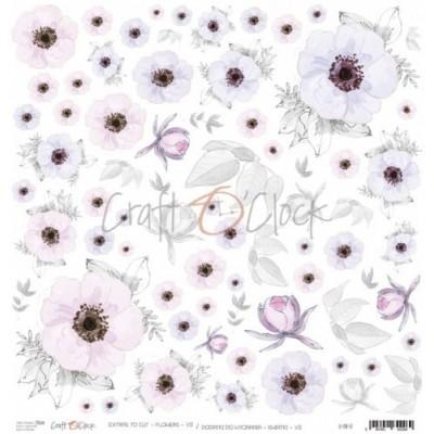 Flowers - VII - kivágóív
