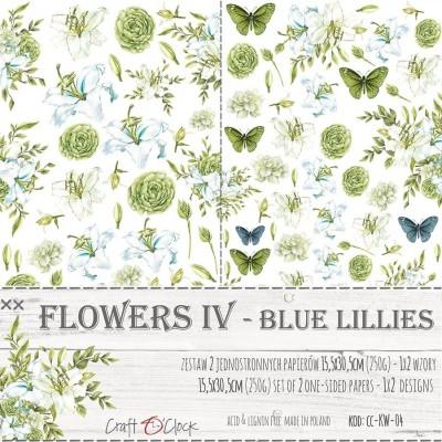 Flowers - IV - kivágóív