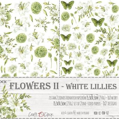 Flowers - II - kivágóív