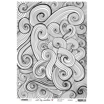 Art by Marlene 4.0 nr.02 A4-es rizspapír