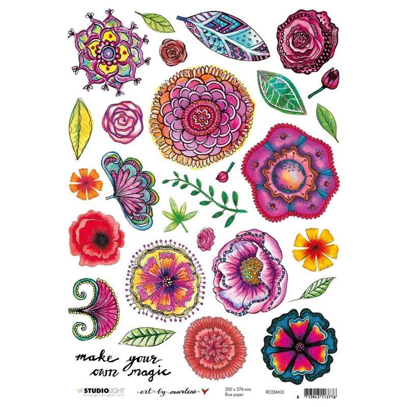 Art by Marlene 4.0 nr.05 A4-es rizspapír