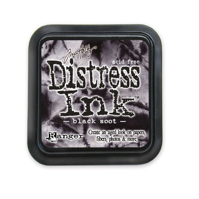 Tim Holtz Distress Ink tintapárna - black soot