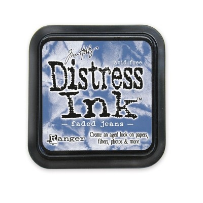 Tim Holtz Distress Ink tintapárna - faded jeans