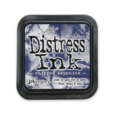 Tim Holtz Distress Ink tintapárna - chipped sapphire