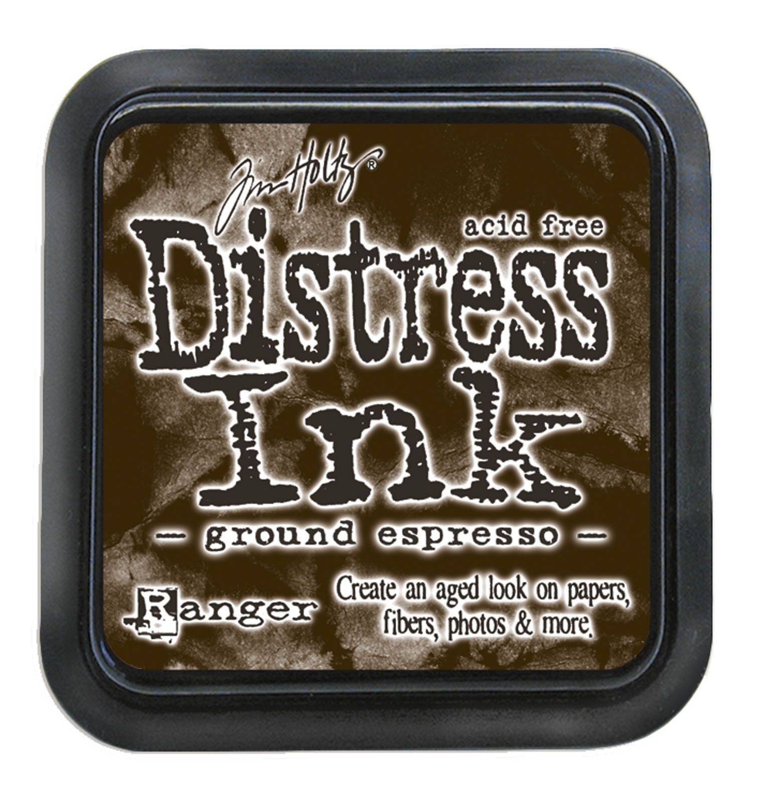 Tim Holtz Distress Ink tintapárna - ground espresso