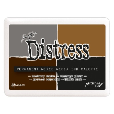 Tim Holtz Distress mixed media tintapárna paletta 3