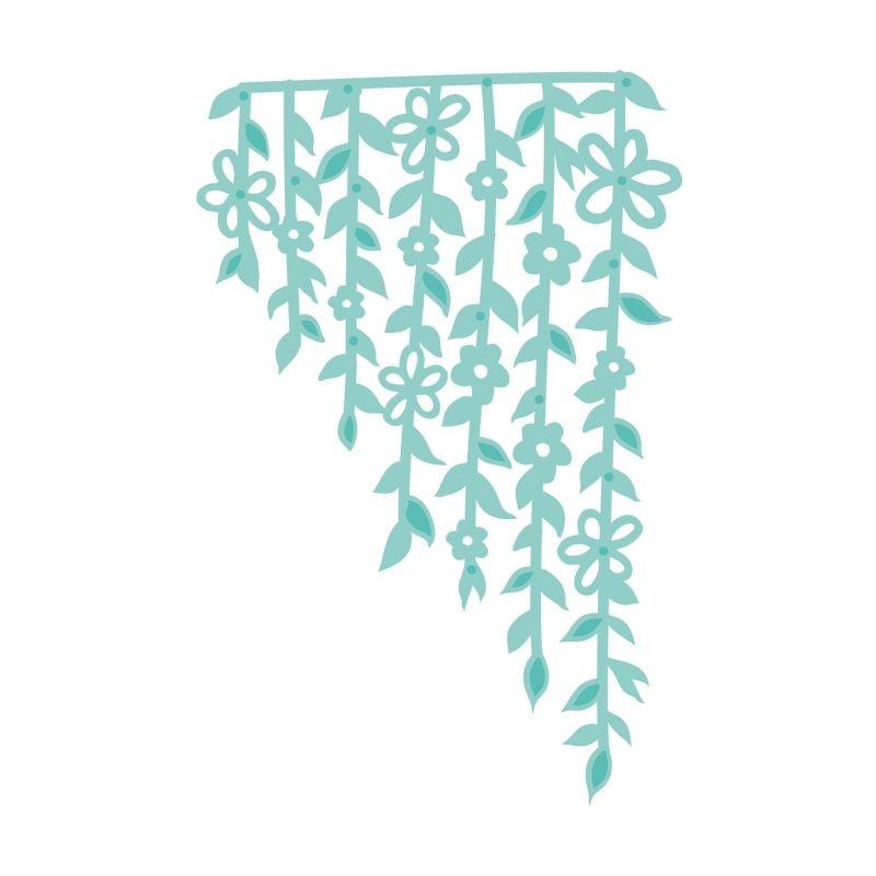 Kaisercraft vágókés - Vine and Floral