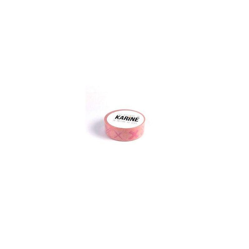 Croix roses washi tape - dekortapasz