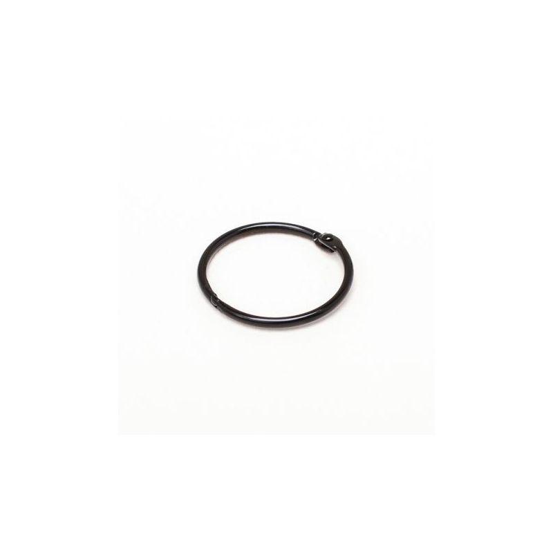 Album karika fekete 25 mm átmérőjű