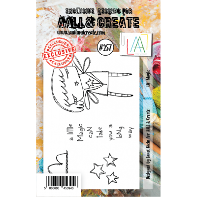 AALL and Create A7-es bélyegző no.257