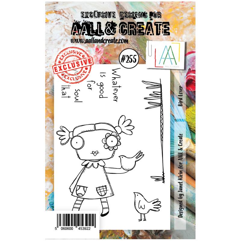 AALL and Create A7-es bélyegző no.255