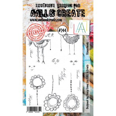 AALL and Create A6-os bélyegző no.244