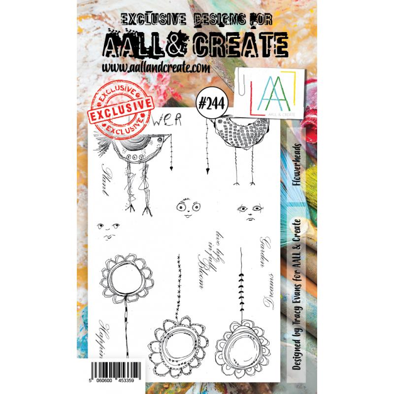 AALL and Create A6-os bélyegző no.244