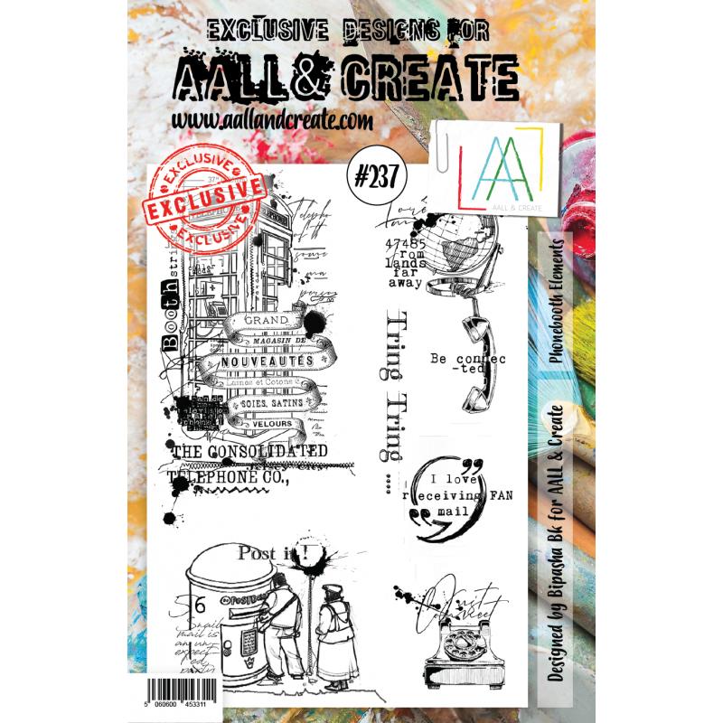 AALL and Create A5-ös bélyegző no.237