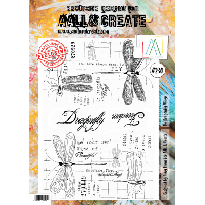 AALL and Create A4-es bélyegző no.230