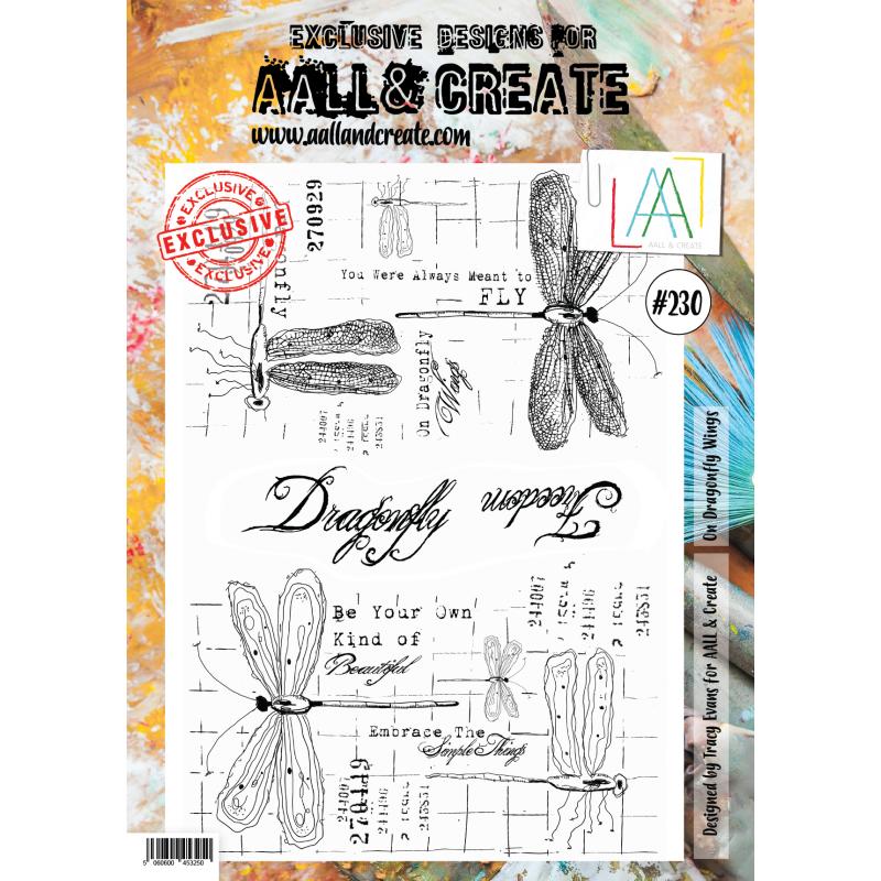 AALL and Create A4-es bélyegző no.230