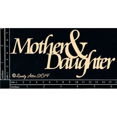 Mother and Daugter