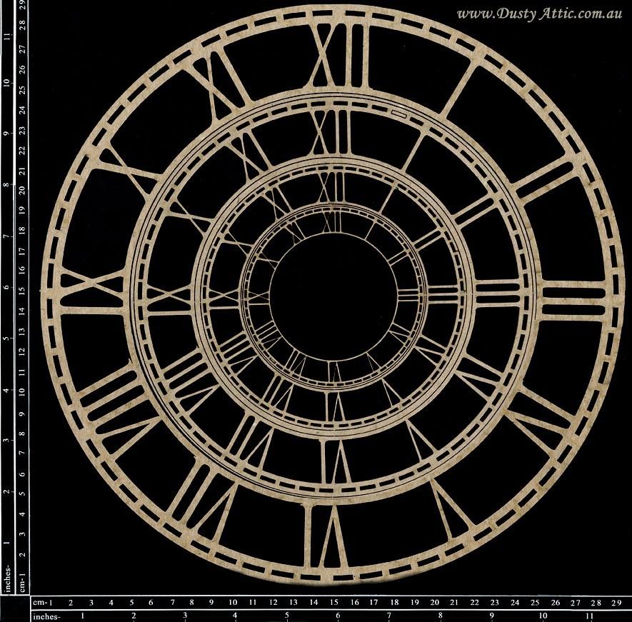 Skeleton Clock Faces