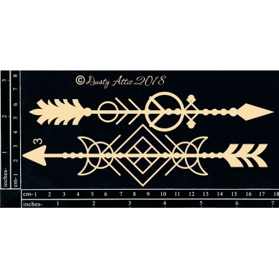 Geo Tribal Arrows des. 3