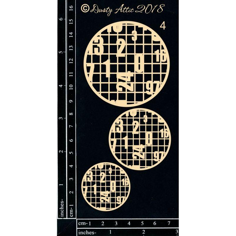 Designer Disc des. 4 - Number Grid