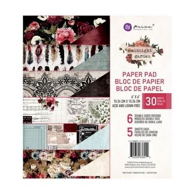Prima Marketing - Midnight Garden kollekció - 6x6 papírkollekció