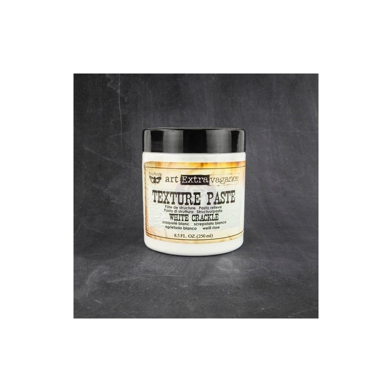 Finnabair - Art Extravagance - Texture Paste White Crackle
