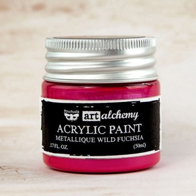 Finnabair - Art Alchemy - Metallique - Fuchsia