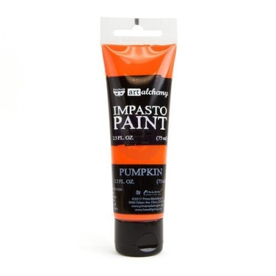 Finnabair - Art Alchemy - Impasto Paint - Pumpkin