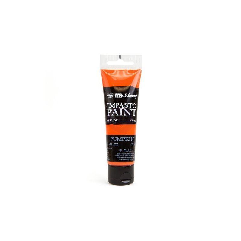 Finnabair - Art Alchemy - Impasto Paint - Pumpkin
