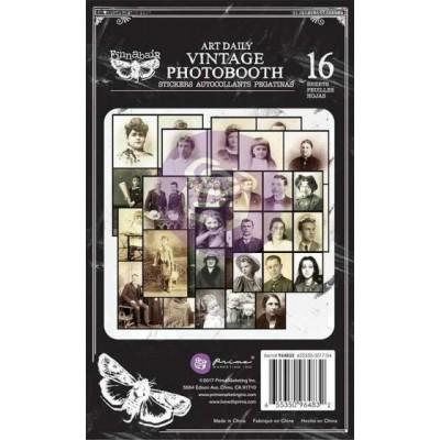 Finnabair - Vintage Photobooth matrica szett